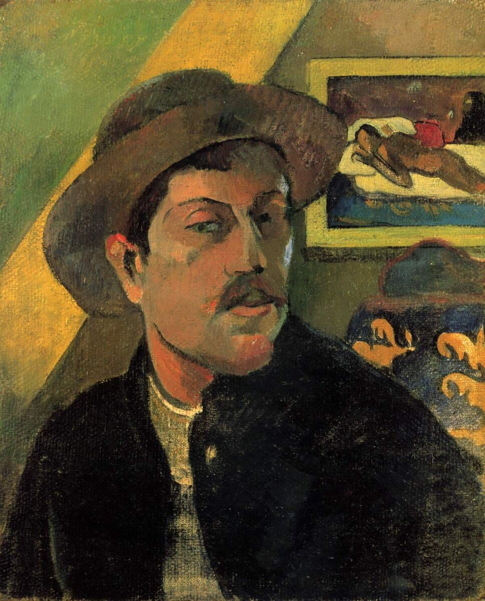 Obras de Paul Gauguin autorretrato