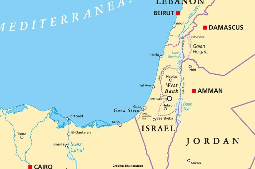 Naín se encuentra actualmente en el norte de Israel, cerca del mar de Galilea.