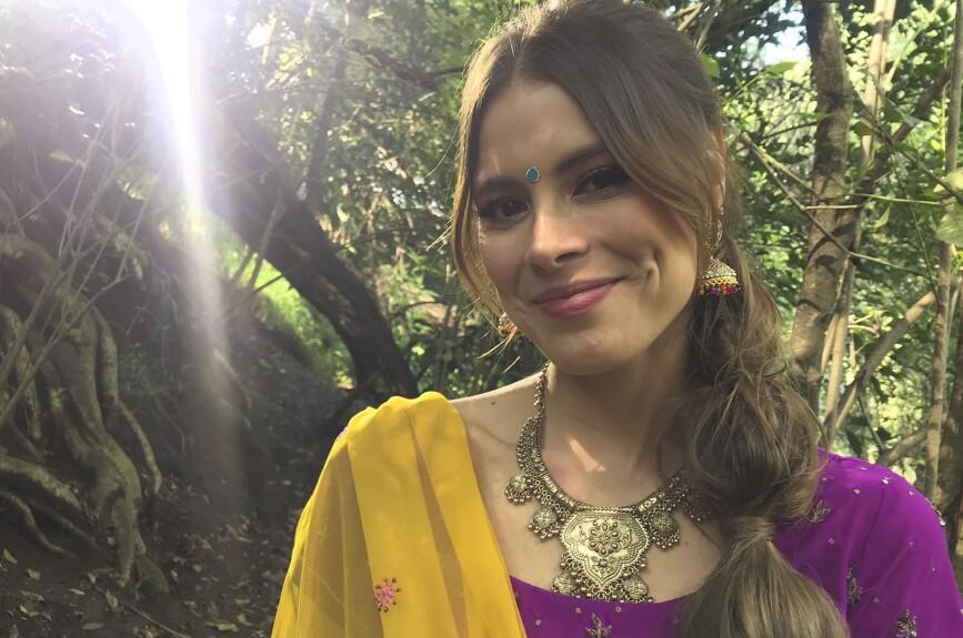 Natalia Valenzuela siempre luce bella.