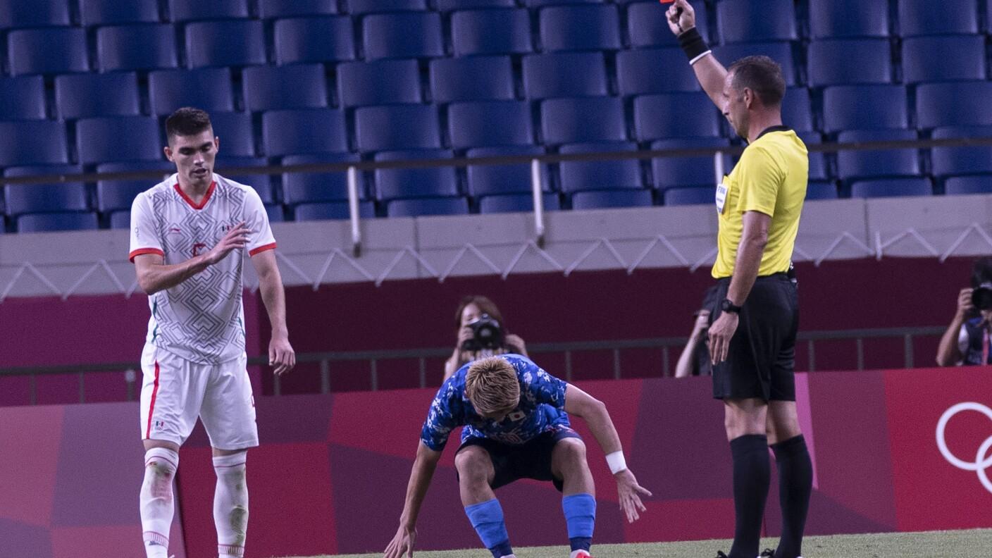 México sufre dolorosa derrota ante Japón en el futbol varonil   FOTOS