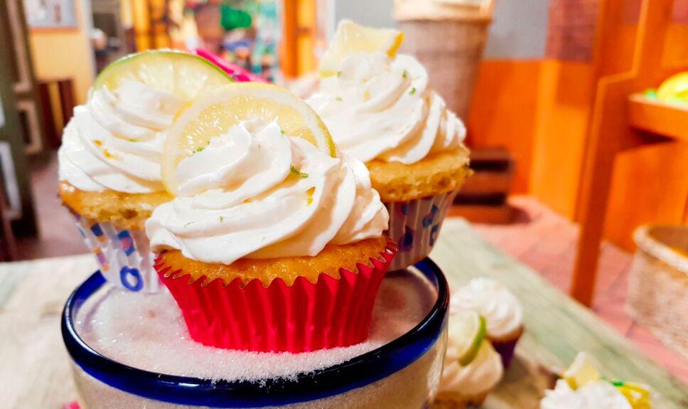Receta Cupcakes margarita