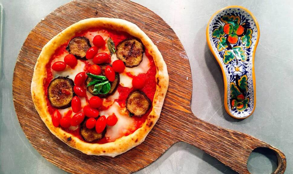 Receta Pizza Siciliana Cocineros Mexicanos