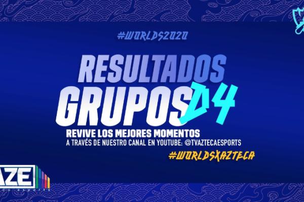 Dia 4 fase de grupos Worlds 2020
