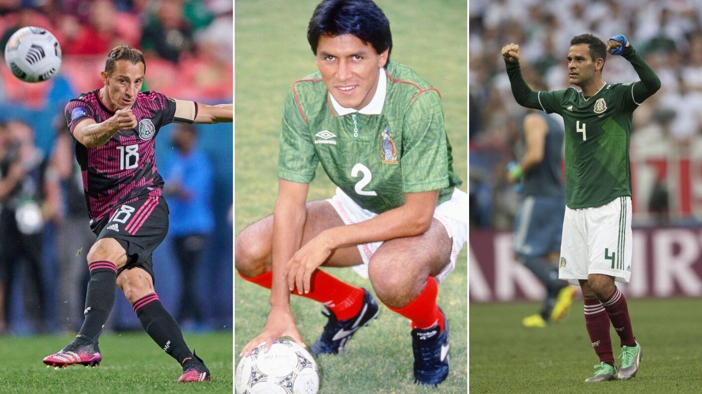 22 futbolistas con más partidos en la Selección Mexicana.jpg