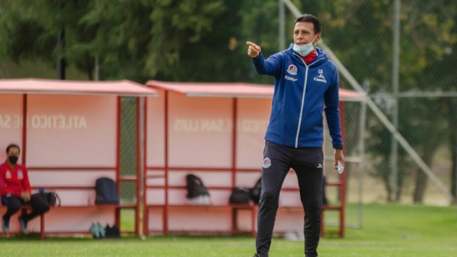 Luis García entrenador del Atlético de San Luis