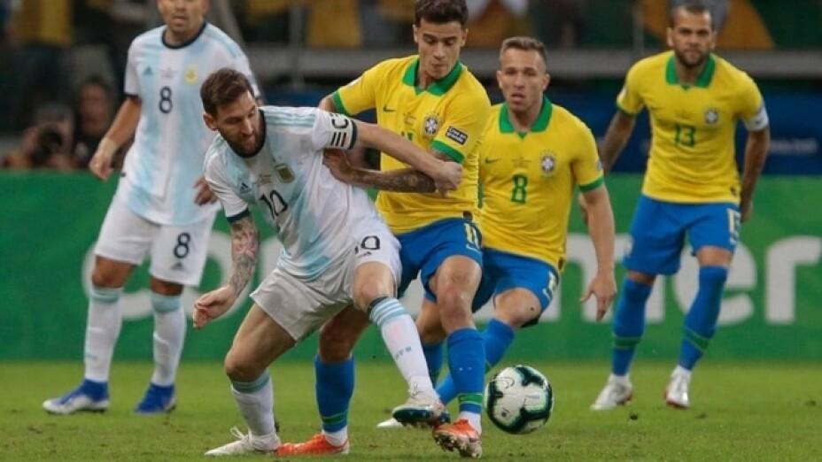 Final Copa América Brasil vs Argentina