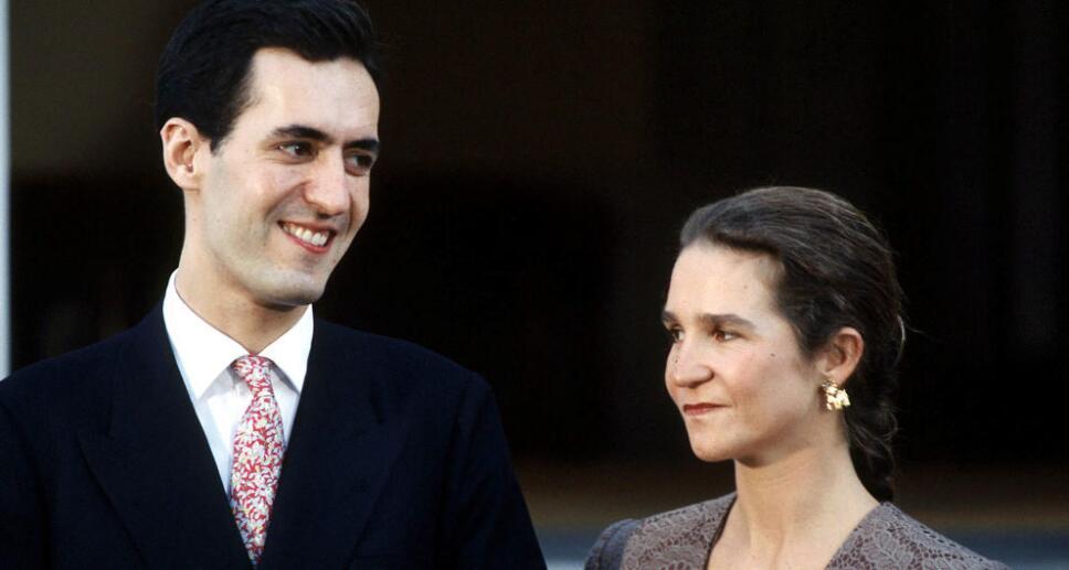 Elena de Borbón y Jaime de Marichalar  Foto Especial
