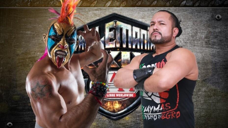 Psycho Clown vs Rey Escorpión Triplemanía XXIX