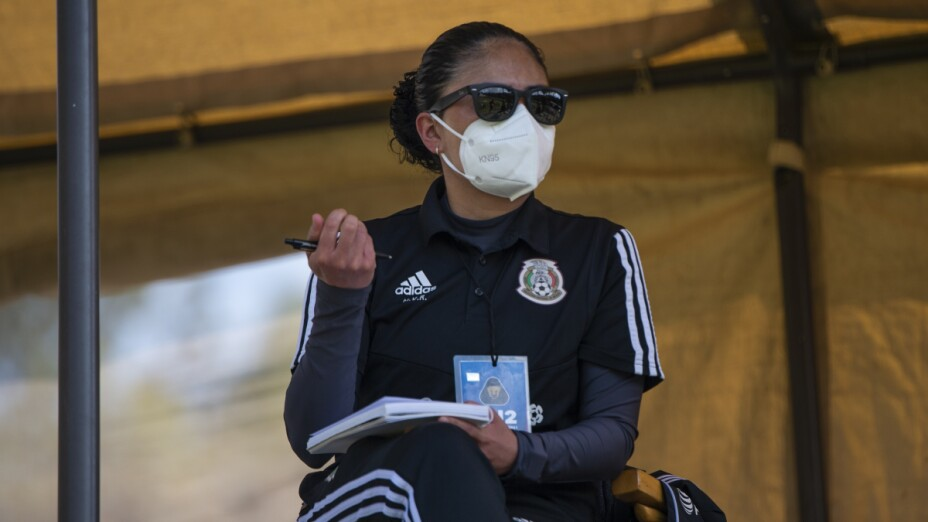 Mónica Vergara, técnico de la Selección Azteca femenil