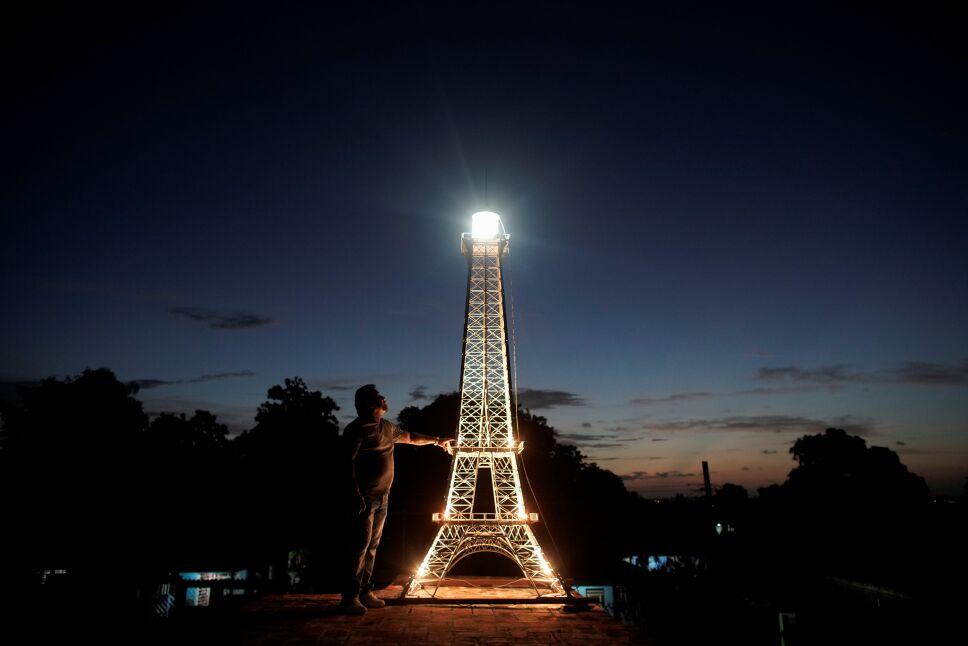 Replica of Eiffel Tower in Havana