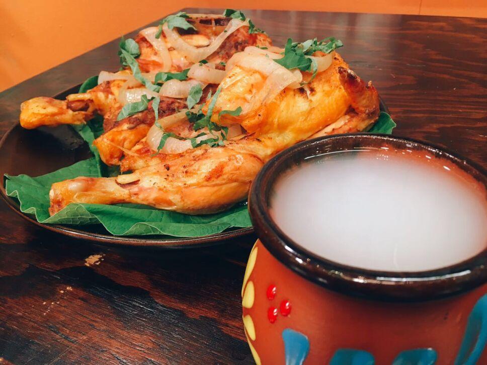 Pollo en pulque, cocineros mexicanos