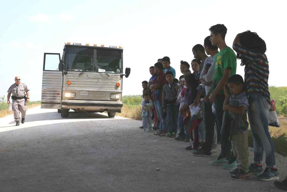 niños inmigrantes separados de sus familias