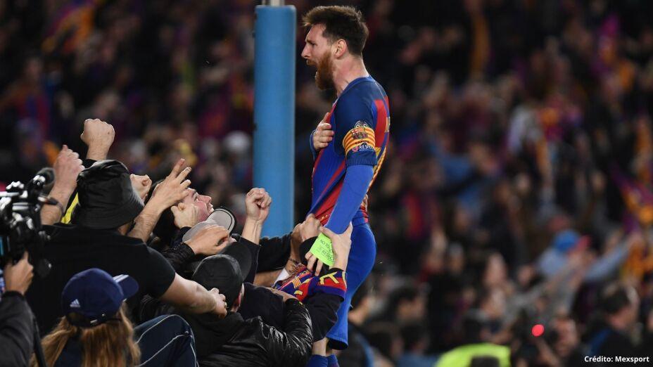 8 jugadores con más partidos en Champions League Messi.jpg