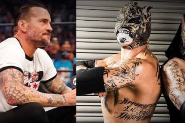 cm punk lucha brothers pentagón jr fénix