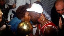 Deloris Jordan y Michael Jordan