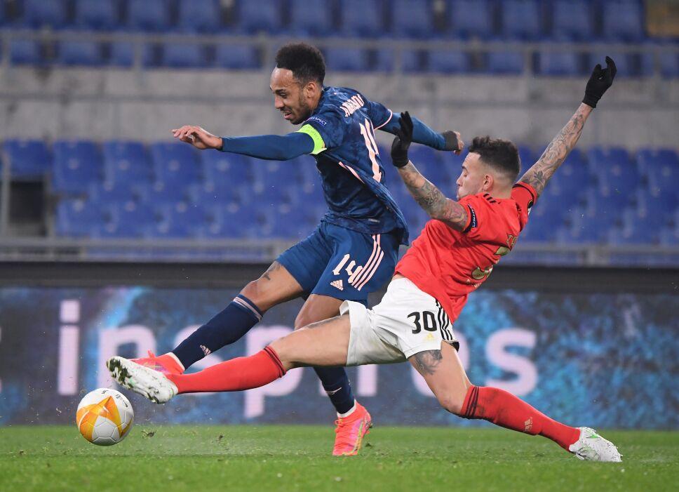 Europa League - Round of 32 First Leg - Benfica v Arsenal