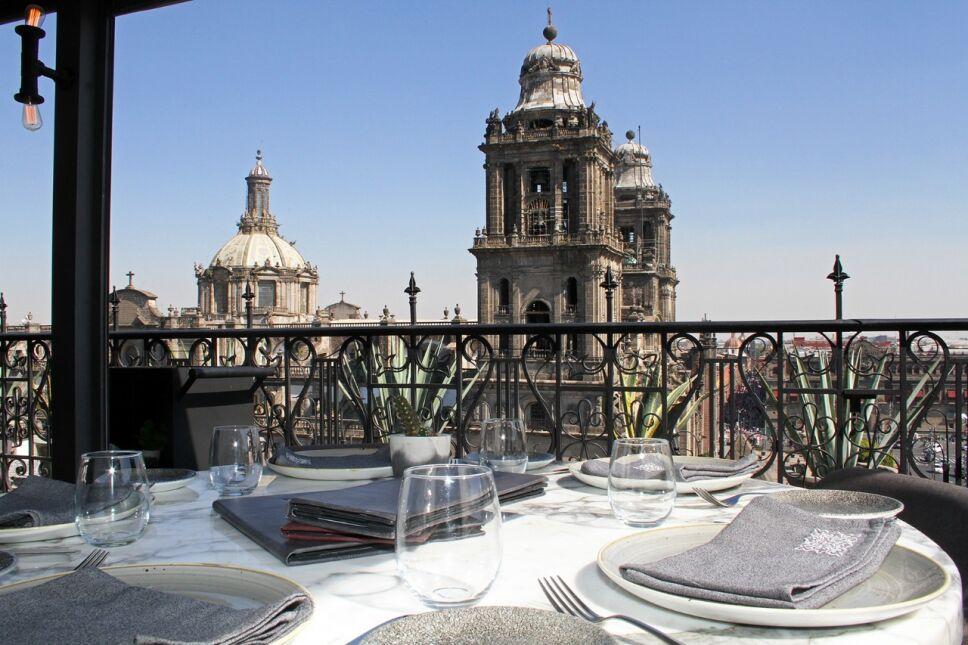restaurante balcon del zocalo cdmx