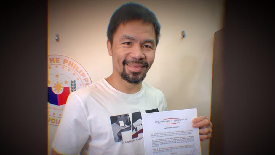 Manny Pacquiao boxeador