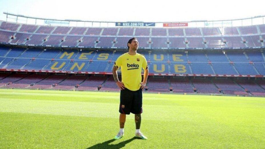 Messi estadio