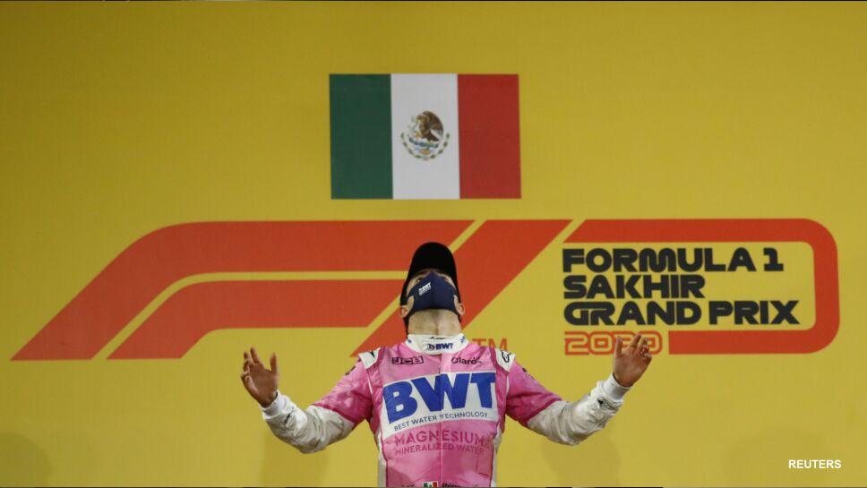 Sergio Pérez gana el Gran Premio de Sakhir de la Fórmula Uno