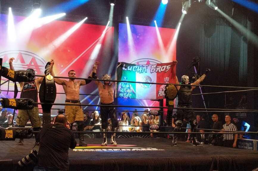 Lucha Libre AAA en Nueva York