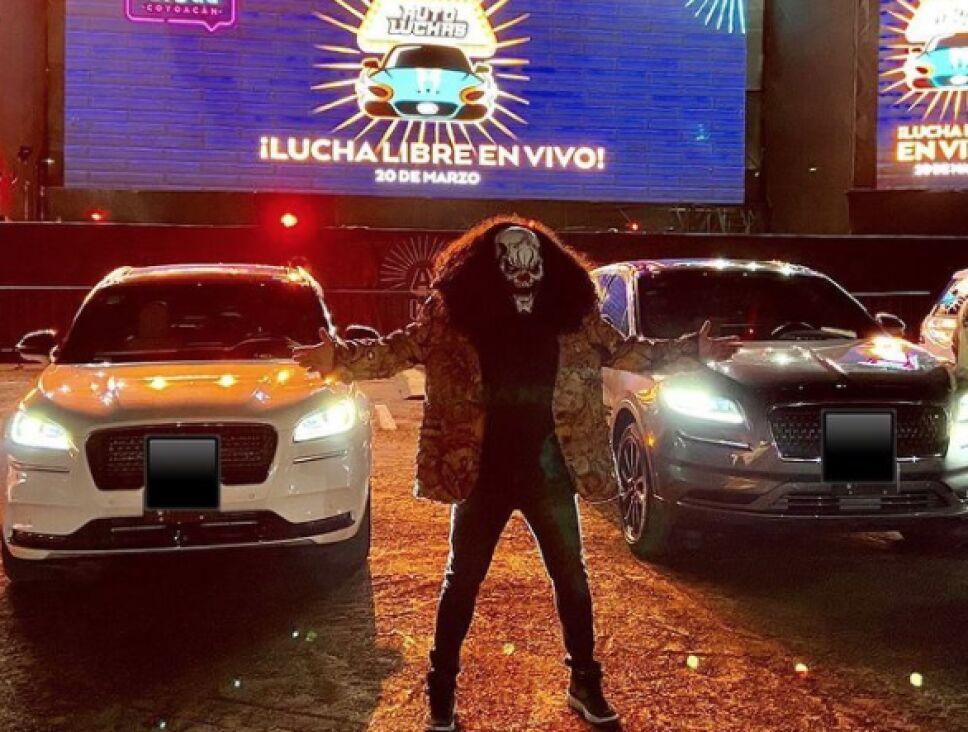 Auto Luchas AAA coyoacán