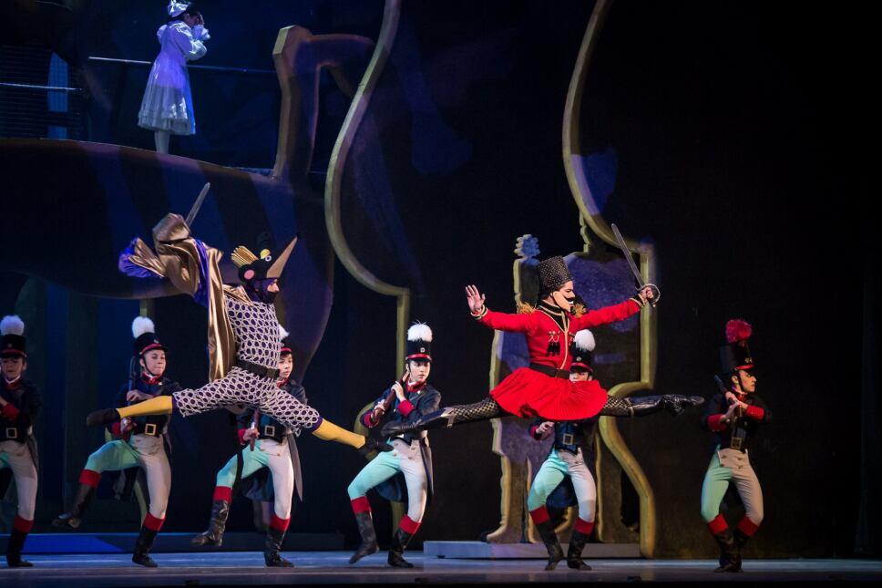 el cascanueces compañia nacional de danza mexico fes acatlan
