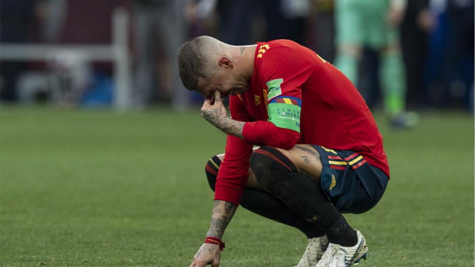 Sergio Ramos no irá con España en JJOO