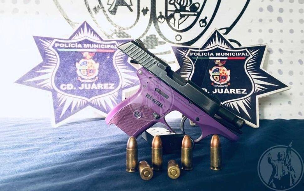 """Juana María """"N"""" no aguantó más y sacó una pistola calibre 9 milímetros para matar a su esposo."""
