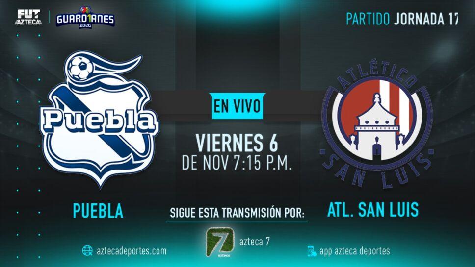Puebla vs Atlético San Luis |Jornada 17 Liga MX