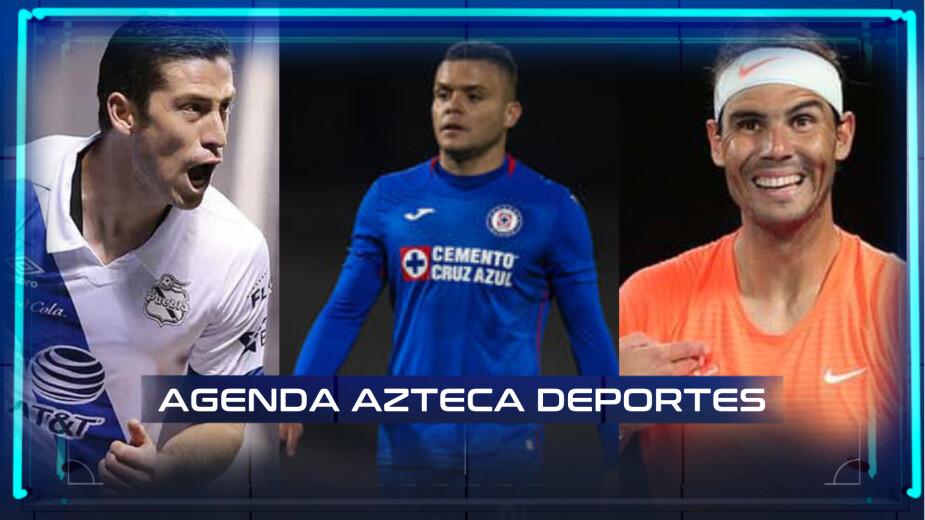 Agenda Azteca Deportes 12 de mayo