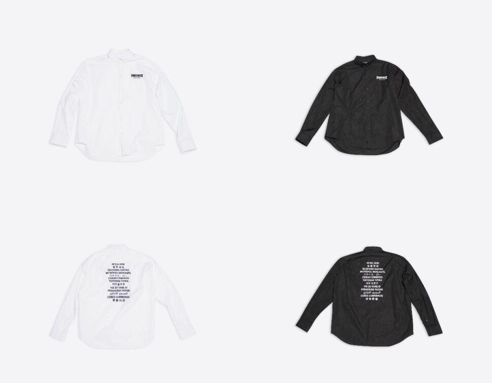 balenciaga fortnite 2021 camisa