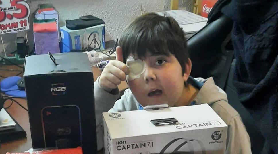 Muere Tomiii 11, el pequeño youtuber chileno que emocionó a todo el mundo del Internet.