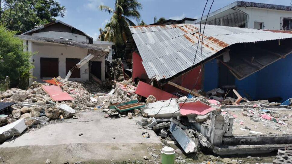Más de 84 mil viviendas afectadas por sismo en Haití