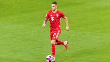 Lucas Hernández jugando con el Bayern Munich.