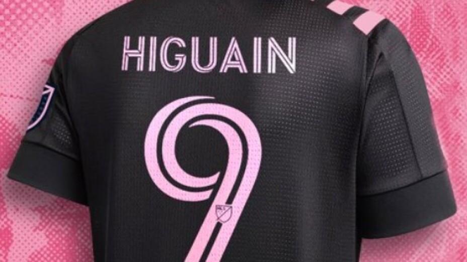 Gonzalo Higuaín con el Inter Miami