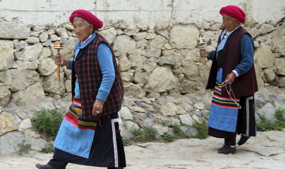 ddc mujeres del tibet
