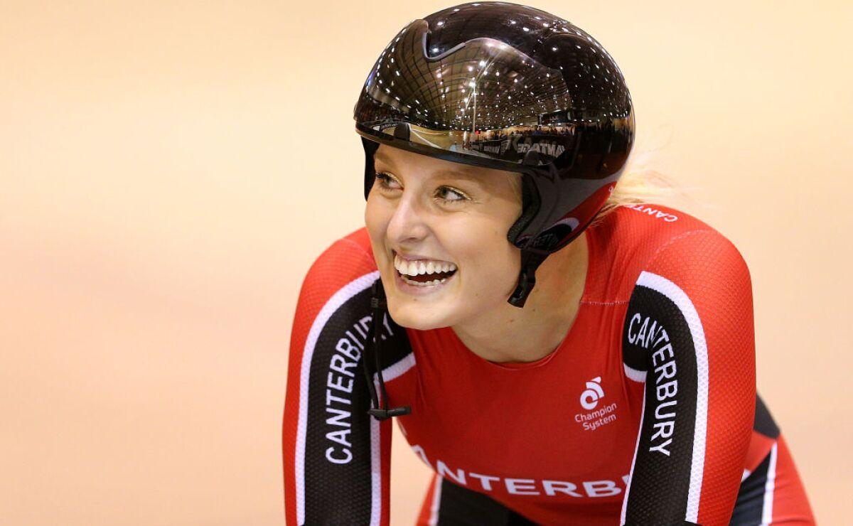 Hallan sin vida a Olivia Podmore, ciclista olímpica de Nueva Zelanda