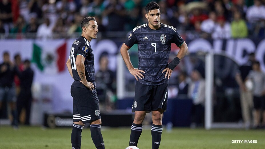 Raúl Jiménez y Andrés Guardado
