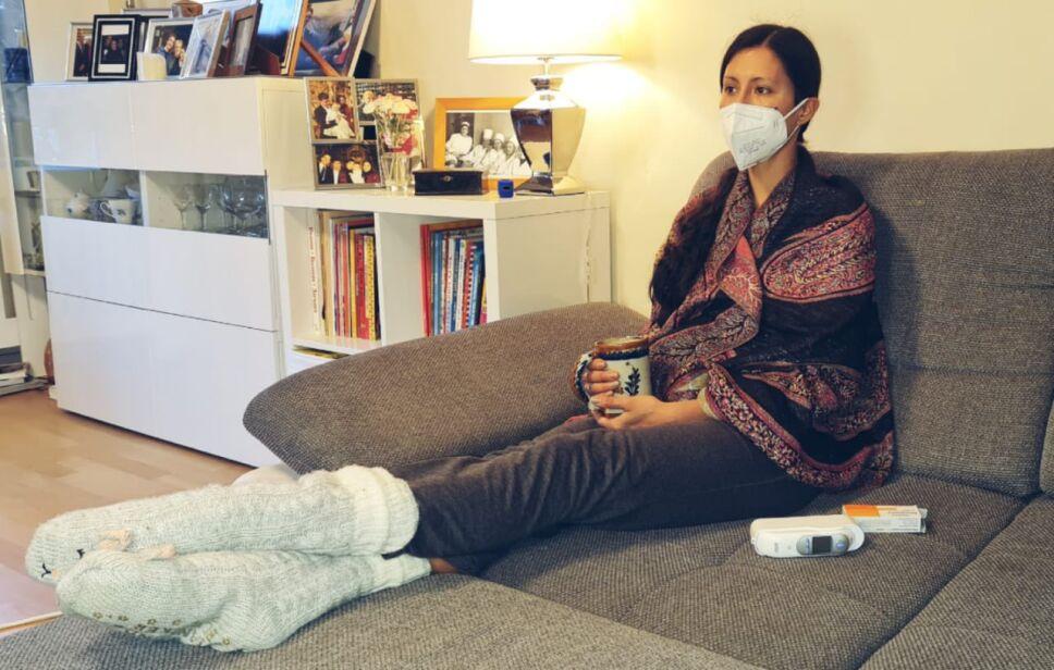 Elisa Carrillo comparte foto tras contagio de COVID-19