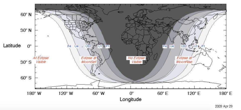 donde se vera el eclipse lunar mayo 2021
