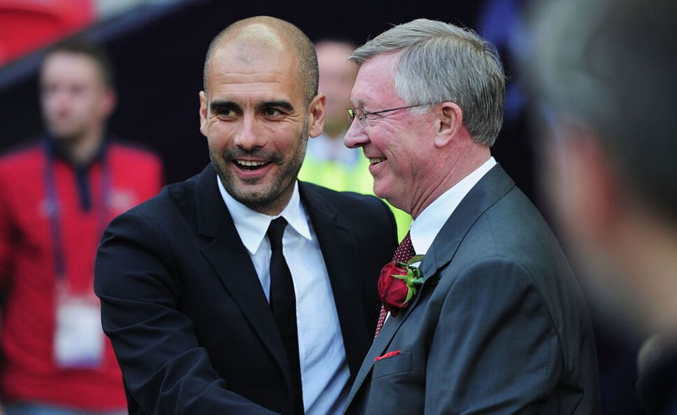 Guardiola y Ferguson han dado cátedra en el futbol