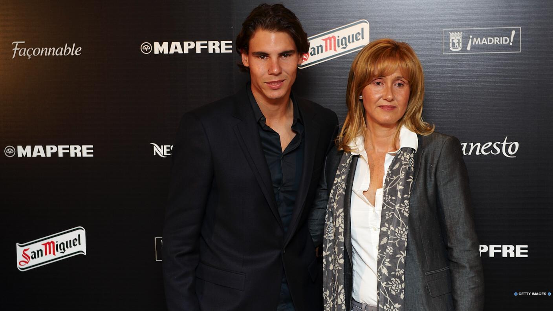 Ana María Parera y Rafael Nadal