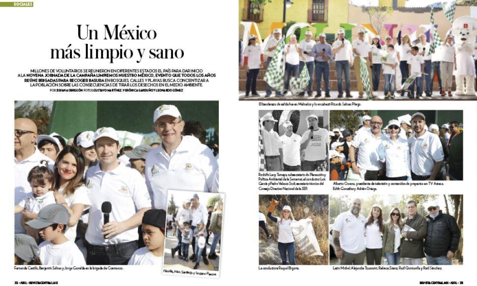Novena edición 'Limpiemos México'