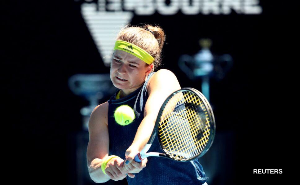 La tenista checa Karolina Muchova