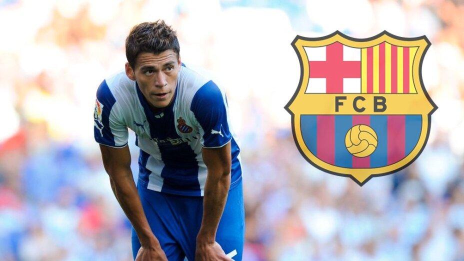 Héctor Moreno pudo jugar en el Barcelona