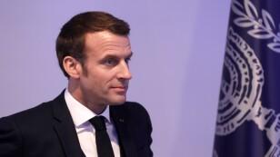 Israeli President Rivlin and French President Macron meet in Jerusalem