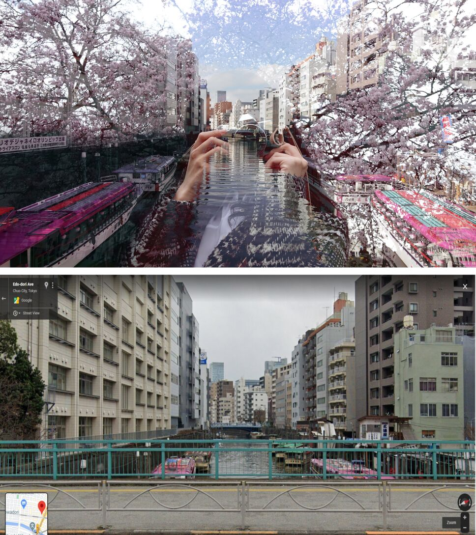 Taeko Nomiya en Río Kanda