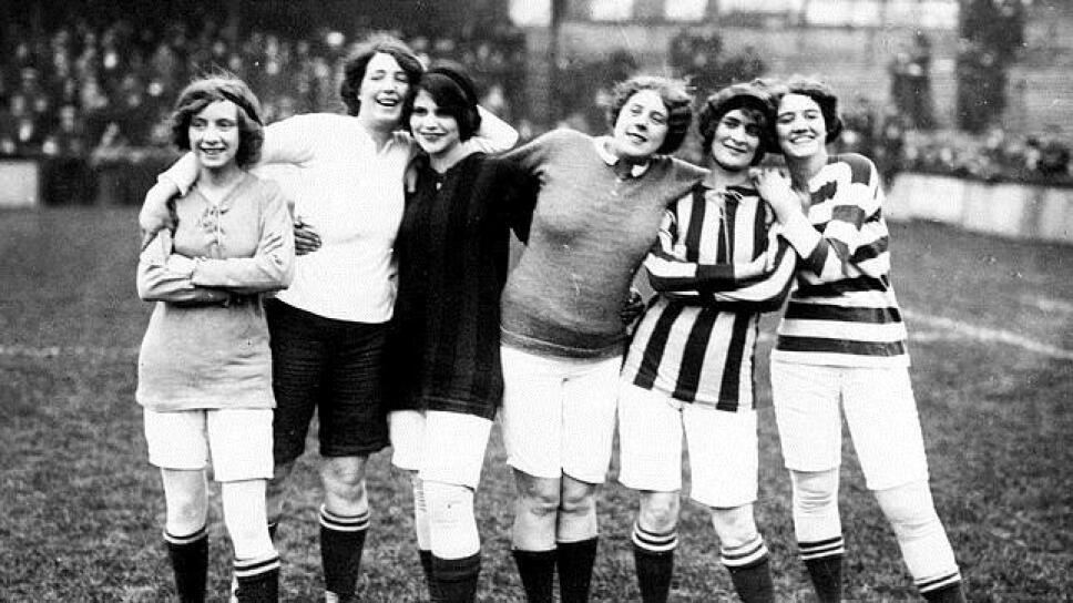 La historia del futbol femenino