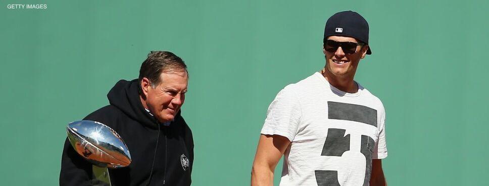 Tom Brady en su faceta de patriota